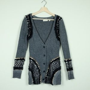 Anthropologie Sleeping on Snow Corby Lodge Sweater